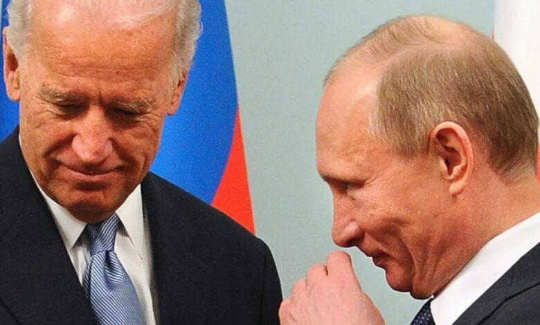 Байдън и Путин