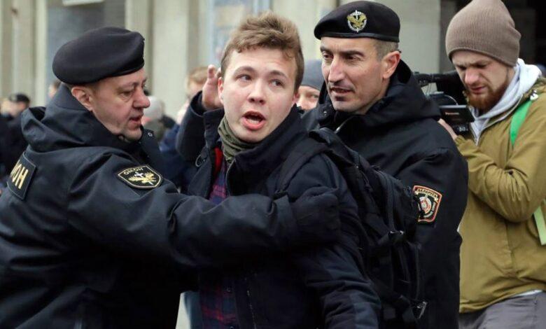 беларуския журналист Роман Протасевич