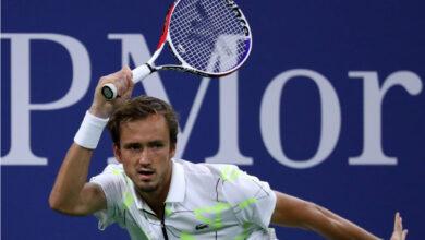 Даниил Медведев Тенис Игра